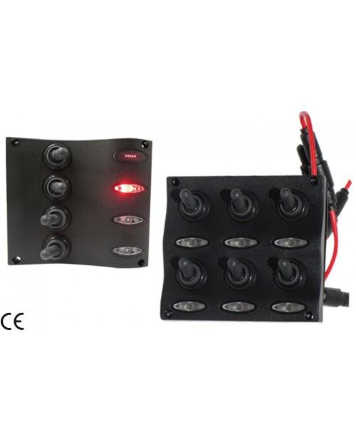 PANOU ELECTRIC WATERPROOF 6 SIGURANTE LED