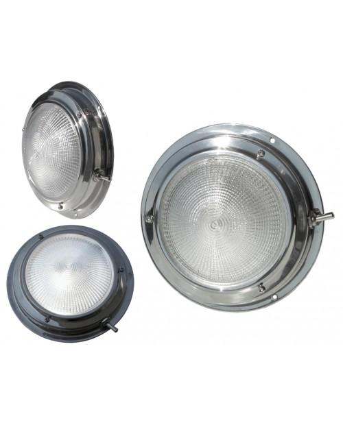 Lumina plafoniera inox