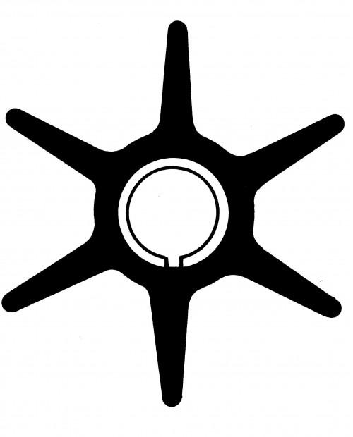 Rotor pompa apa Yamaha 20/30 CP 2T