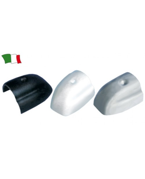 Terminatie  nylon profil U cauciuc 45 mm