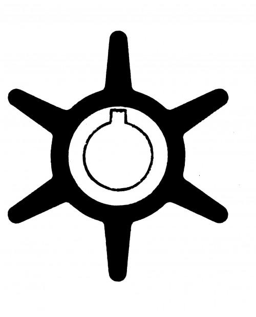 Rotor pompa apa Yamaha 20D/25D CP 2T