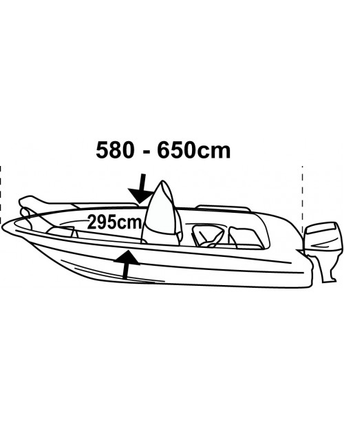 Husa barca XL