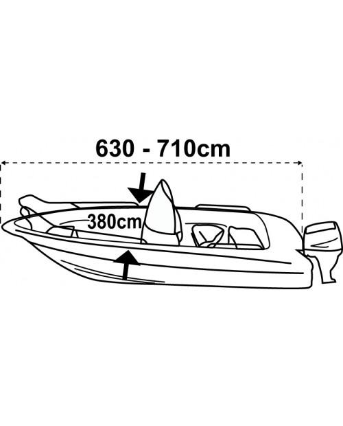 Husa barca XXL